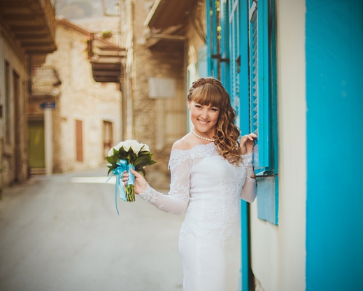 Wedding dress in Cyprus