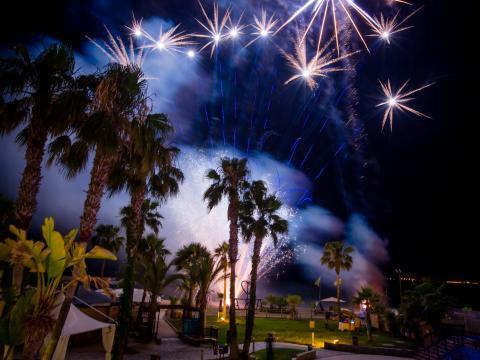 Firework in Cyprus