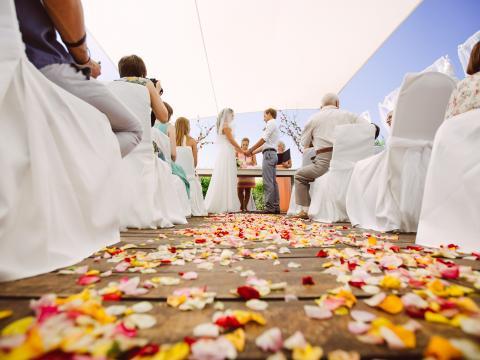 wedding ceremony Alion hotel