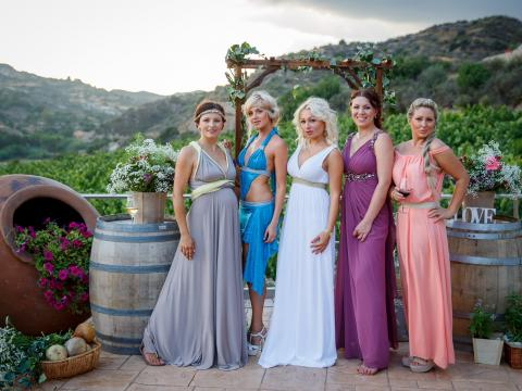 Hens night  in Cyprus winery
