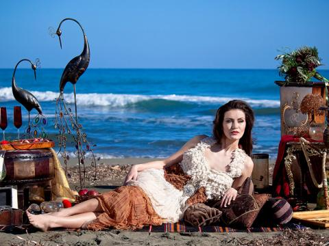 Bohemian Themed photoshoot in Cyprus