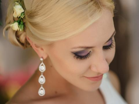 wedding hair dresser in Cyprus