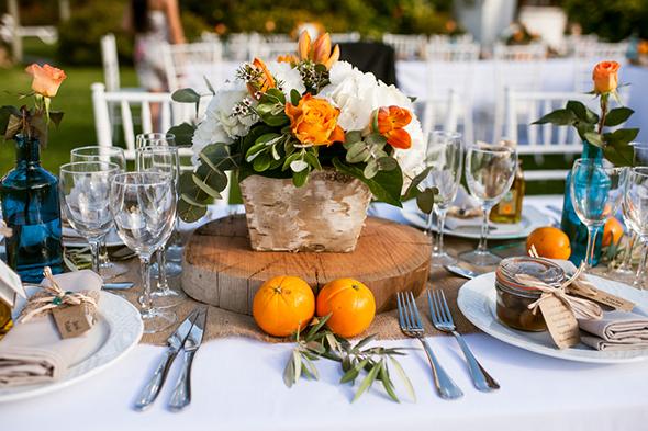 апельсиновая свадьбв