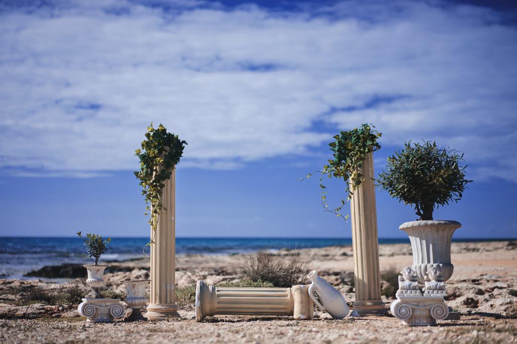 Свадьба на Кипре в греческом стиле