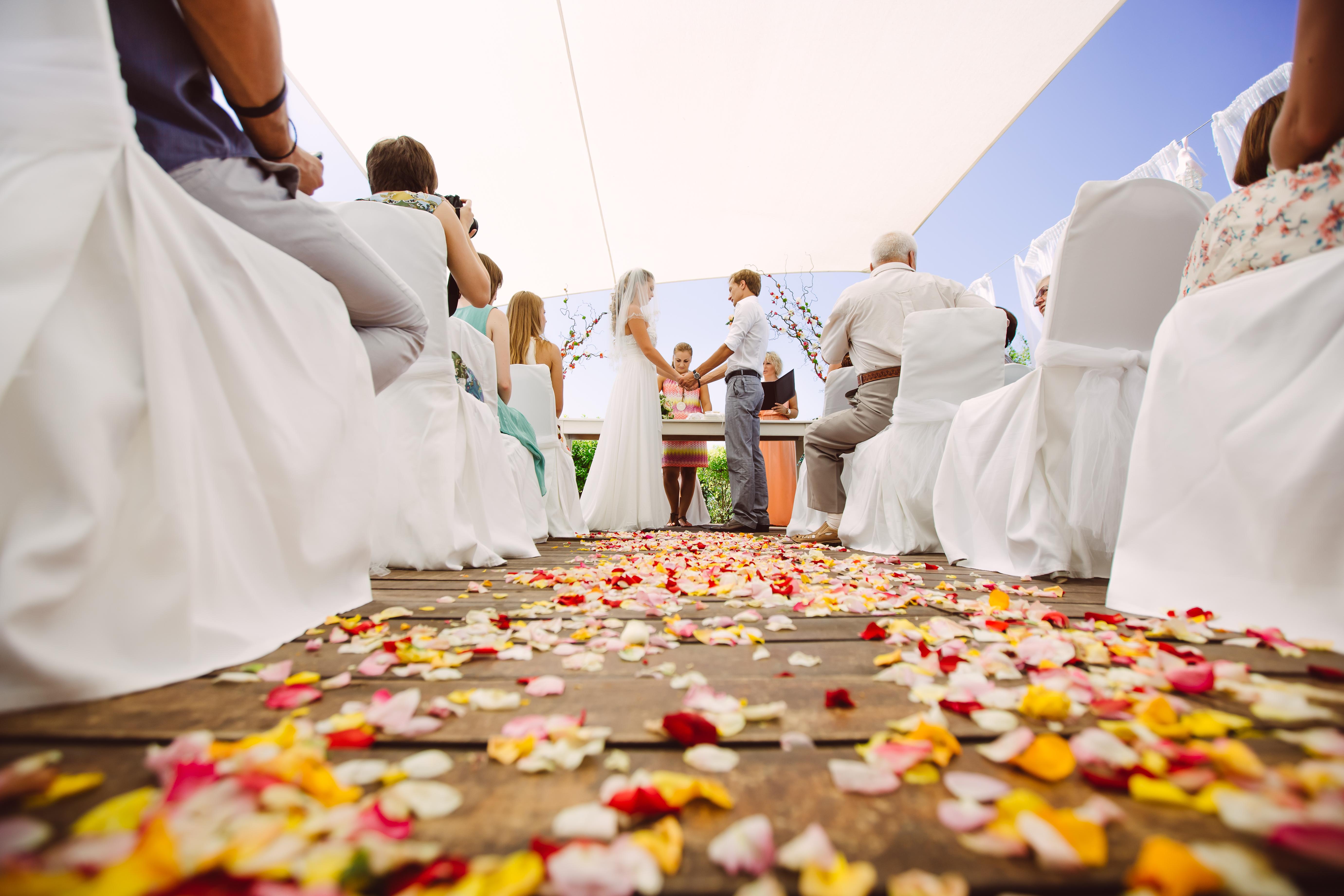 Свадебная церемония в гостинице Алион