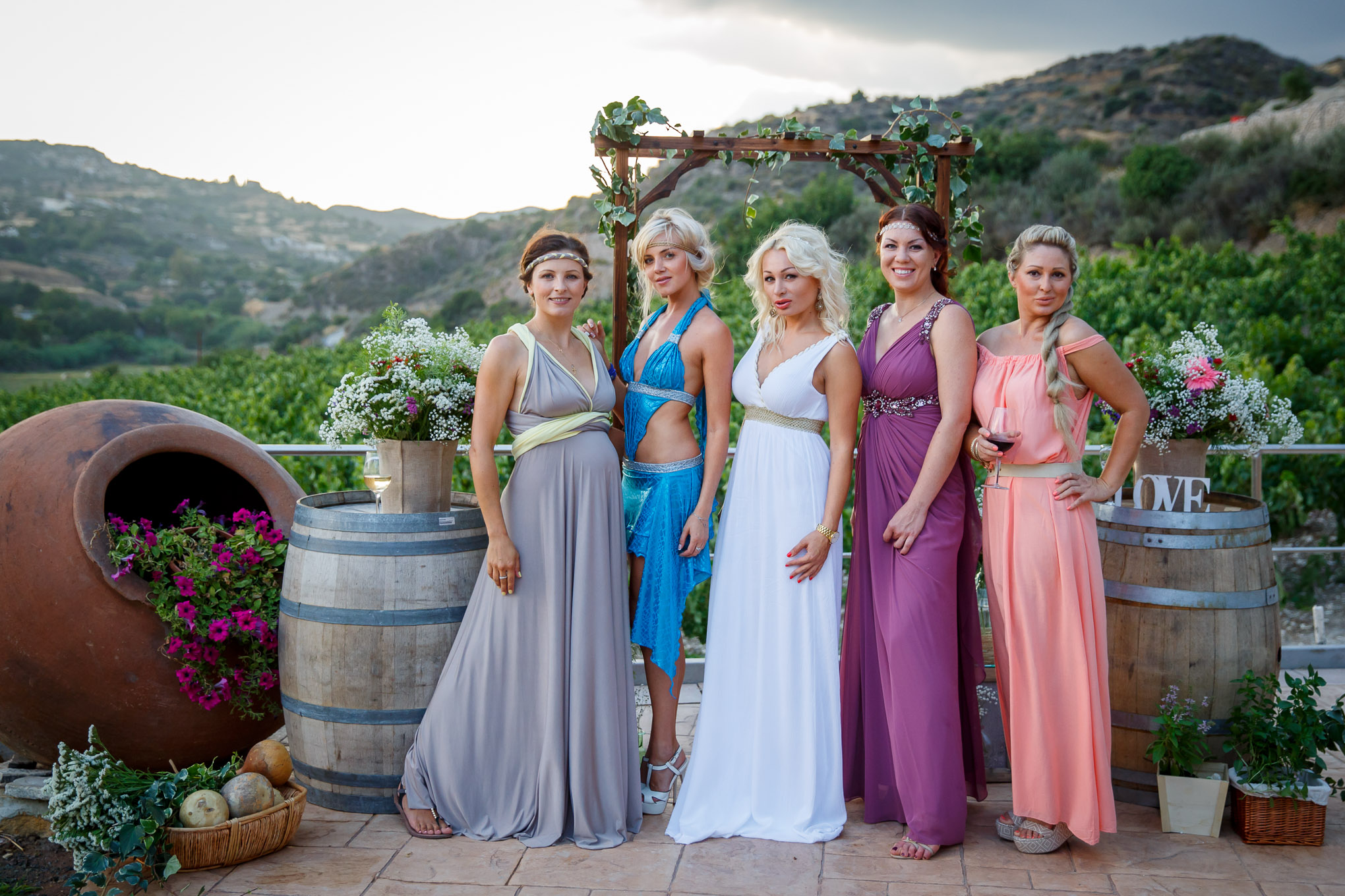 Вечеринка на Кипре, вакханалия на олимпе, девичник на Кипре