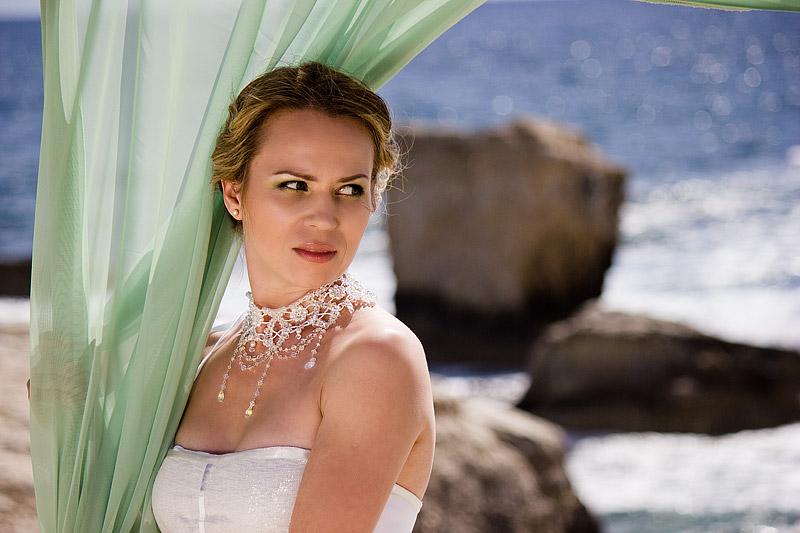 Макияж, свадьба на Кипре