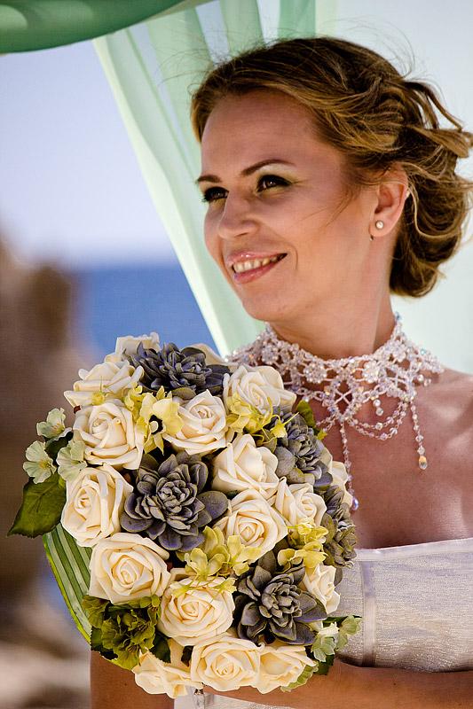 свадебный макияж на Кипре