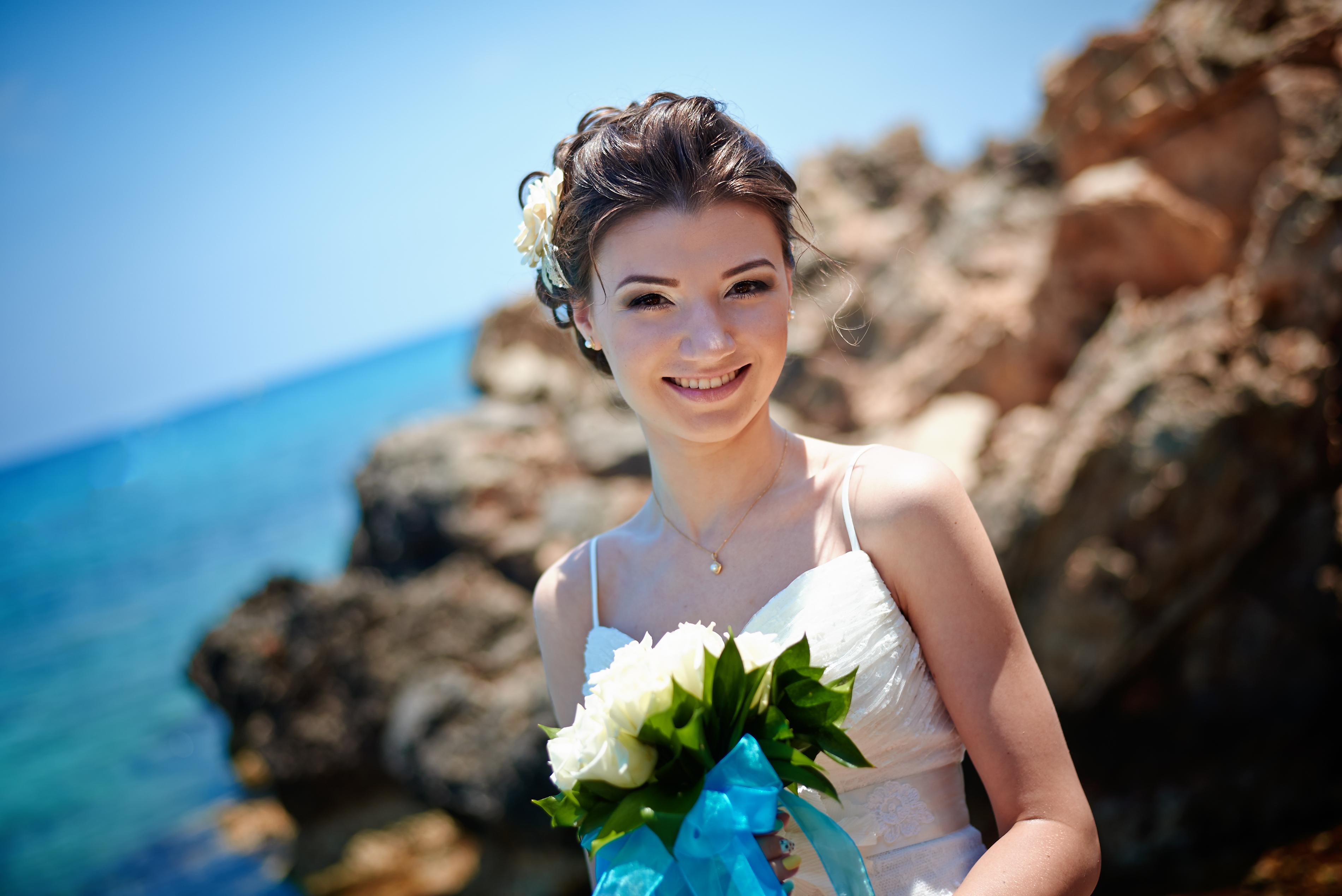 Образ невесты свадьба на Кипре