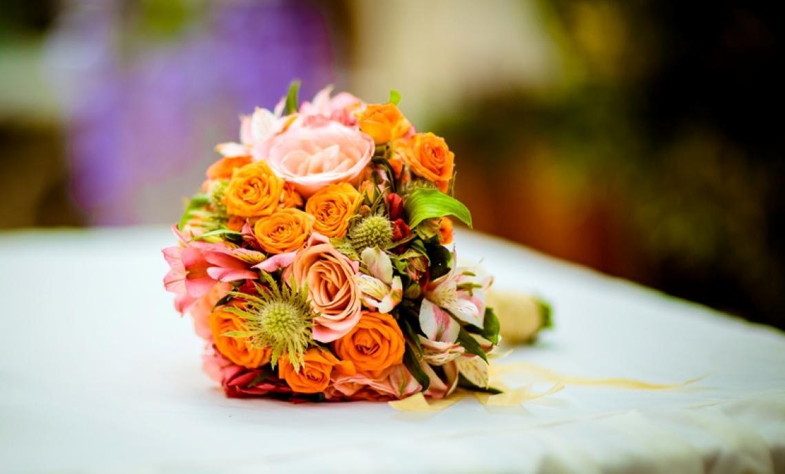 Свадебный букет на Кипре