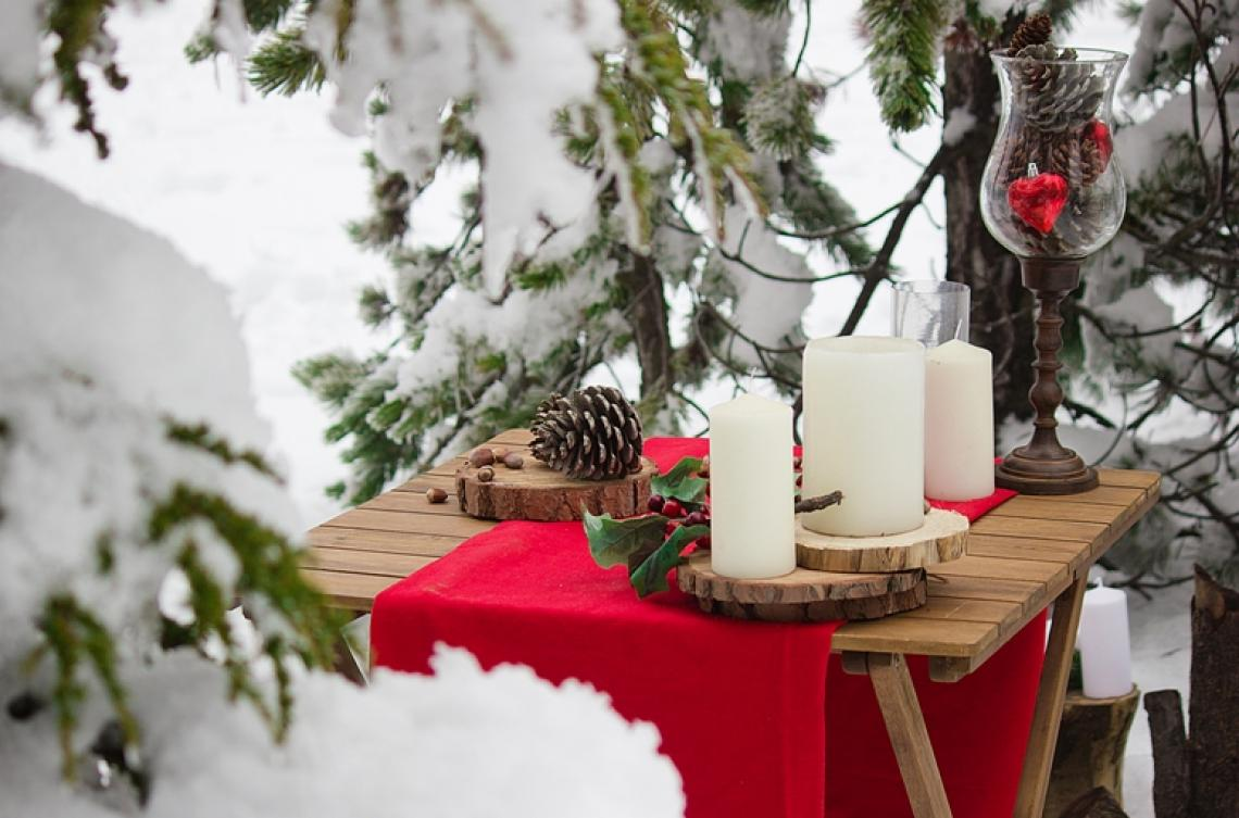зимняя свадьба на Кипре