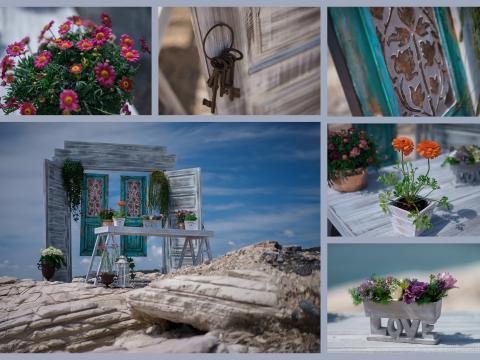 Свадьба на Кипре, оформление места церемонии