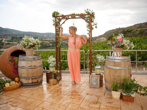 Свадьба на винодельне