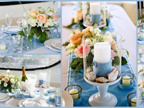 оформление свадьбы на яхте на Кипре