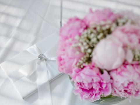 Свадьба на Кипре, флористика, пионы