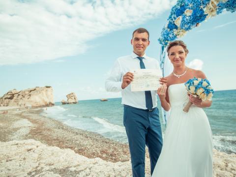 Свадьба на месте рождения Афродиты