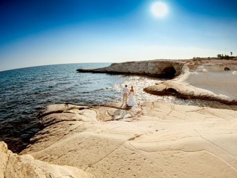 Белые камни, Лимассол свадьба на Кипре