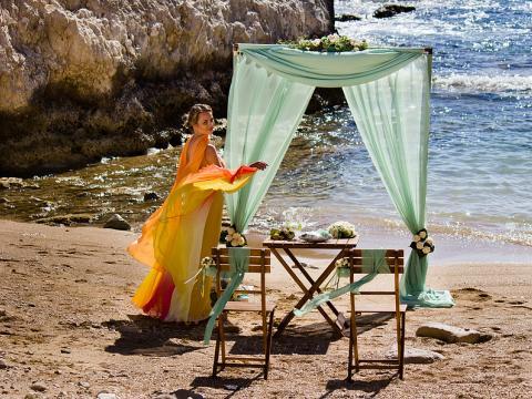 Морские пещеры, Пейя, свадьба на Кипре